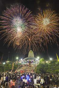 辯天宗夏祭奉納花火大会の画像