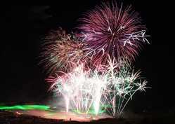 吉野川祭り納涼花火大会の画像