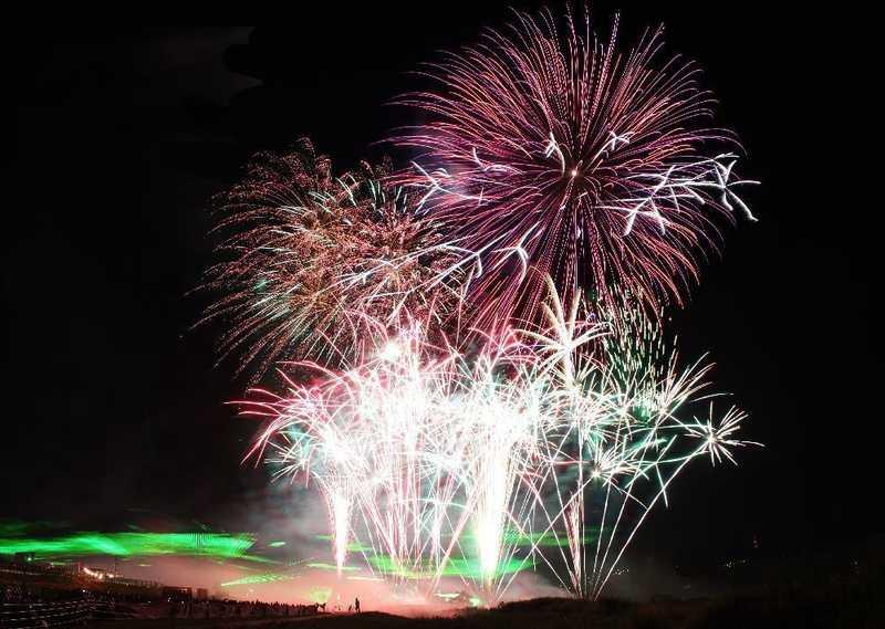 第48回吉野川祭り納涼花火大会