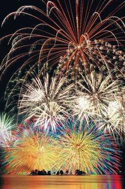 松江水郷祭 湖上花火大会の画像