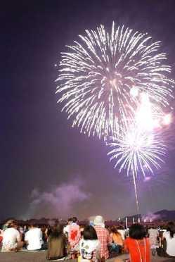 笠岡港まつり花火大会の画像