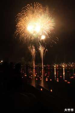 大竹・和木川まつり花火大会の画像