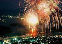 いんのしま水軍花火大会の画像