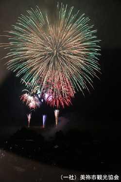秋吉台観光まつり花火大会の画像
