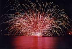萩夏まつり 萩・日本海大花火大会の画像