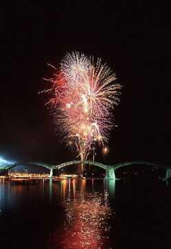 錦川水の祭典の画像
