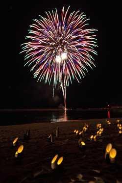 豊浦夏まつり&花火大会の画像