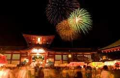防府天満宮夏祭り大花火大会の画像