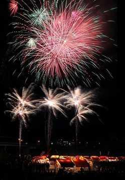 水天宮花火大会の画像