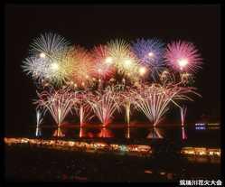 筑後川花火大会の画像
