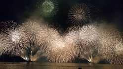 大分合同新聞納涼花火シリーズ 別府会場 べっぷ火の海まつり納涼花火大会の画像