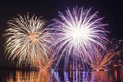 種子島鉄砲まつり 花火大会の画像