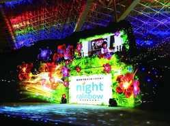 光のきづなメッセージショーの画像